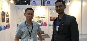 Attended the Exhibition - Tube & Wire Southeast Asia in Bangkok, Thailand